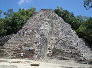 Coba: Die Nohoch-Mul-Pyramide