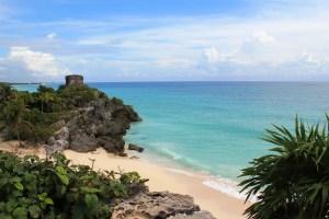 Tulum - wunderschöner Strand