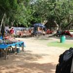 Hier sehen Sie ein Bild vom kleinen Markt. Hier können Sie Kleinigkeiten einkaufen. Vieles was es hier gibt, bekommen Sie auch in den anderen Touristengebieten.